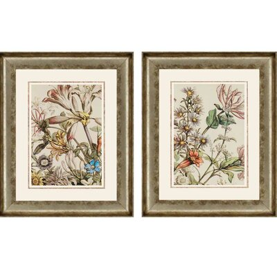 October Detail by Furber 2 Piece Framed Graphic Art Set