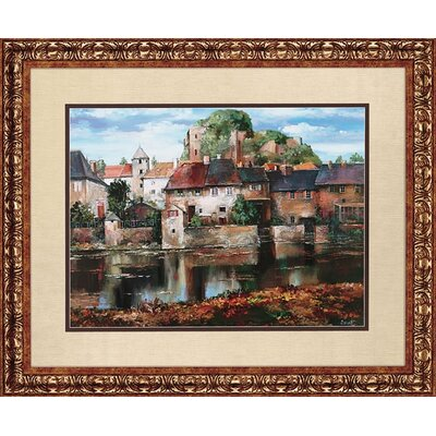 Paragon European Village Reflection Framed Print - Duvall