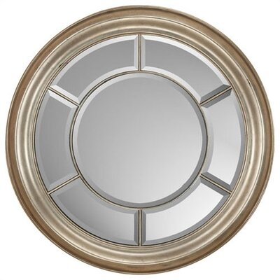 Paragon Round Wheel Silver Mirror