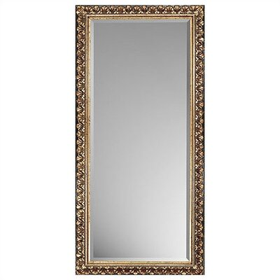 Rectangle Traditional Antique Gold Mirror
