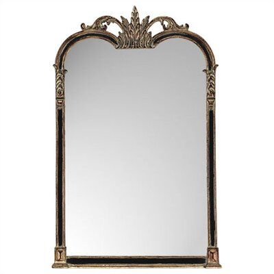 Black and Gold Napoleon Mirror