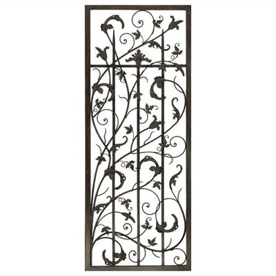 Paragon Rusty Vine Trellis I Metal Art
