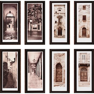 Paragon City Views by Blaustein 2 Piece Framed Art Print Set