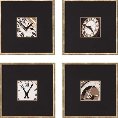 Paragon Clocks by Hall Architectural Art Set