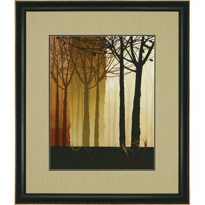 "Paragon Trees in Silhouette II by Butler Landscapes Art - 43"" x 37"""