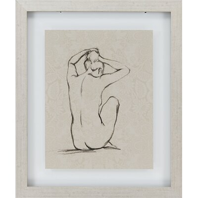 Paragon Nudes by Harper 2 Piece Framed Painting Print Set