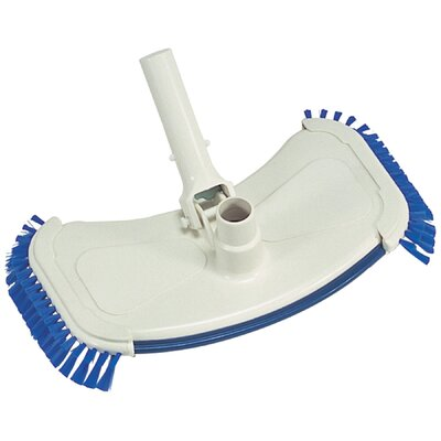 Heritage Pools Deluxe Large Pool Vacuum with Side Brush
