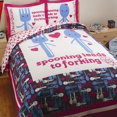 David & Goliath Spooning Duvet Collection