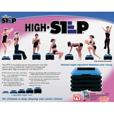 The Step Non-Slip Aerobic Stepper w/ DVD