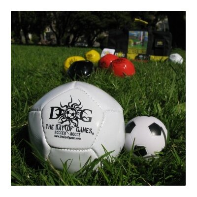 The Day of Games Soccer Bocce Game Set