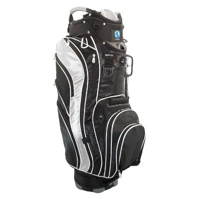 NuSport Genesis Cart Bag in Black and Silver