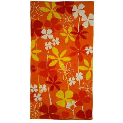 Big Clover Beach Towel