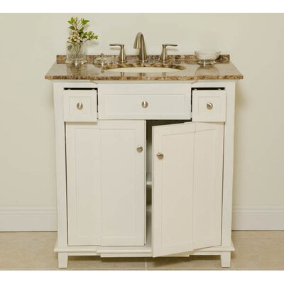"Global Treasures Patty 34"" Sink Cabinet Bathroom Vanity Set"