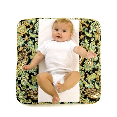 The Plush Pad Memory Foam Changing Pad in High Tea