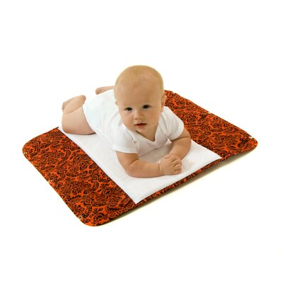 Ah Goo Baby The Plush Pad Memory Foam Changing Pad in Salsa