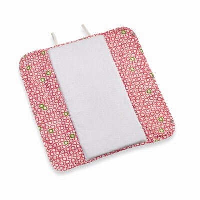 Ah Goo Baby Memory Foam Changing Pad in Bubbles in Juice