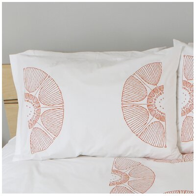 Radial Bloom Standard Pillow Cover