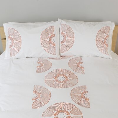 three sheets 2 the wind Radial Bloom Standard Pillow Cover