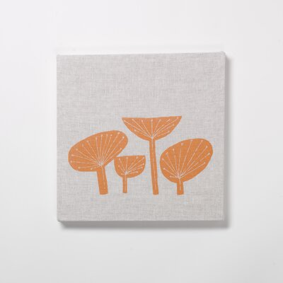 Plant Forms Painting Print on Canvas