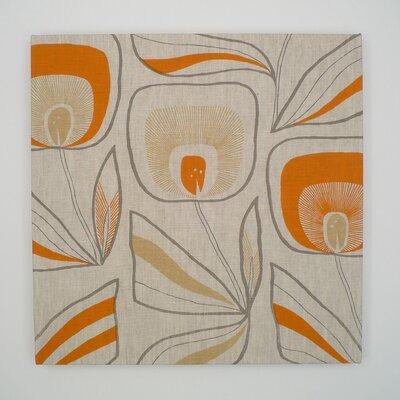 Ani Windflower Textile Painting Print on Canvas