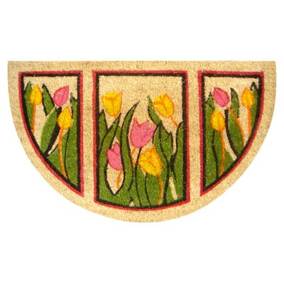 <strong>Imports Decor</strong> Tulip Doormat