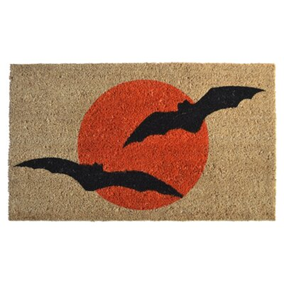<strong>Imports Decor</strong> Bats Doormat