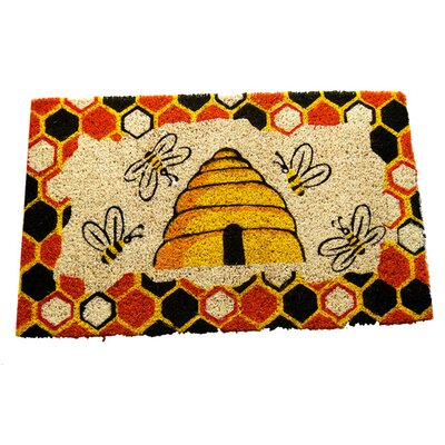 <strong>Imports Decor</strong> Beehive Doormat