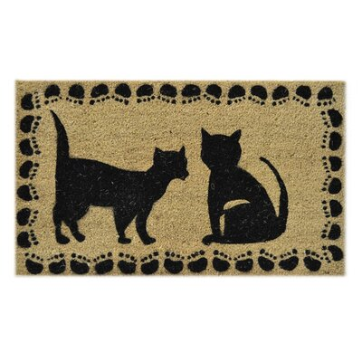 Two Cats Doormat