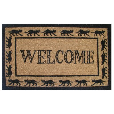 Imports Decor Welcome / Goodbye Doormat