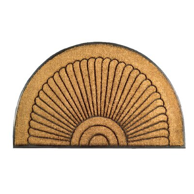 Imports Decor Sunrise Half Round Doormat