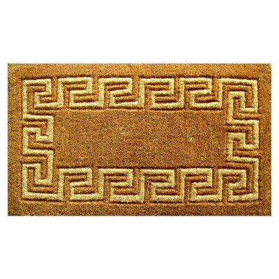 Greek Key Doormat