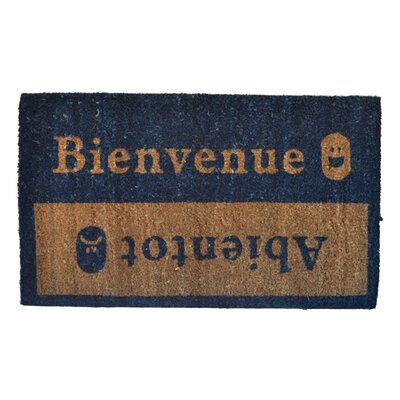 Beinvenue-Abientot Doormat