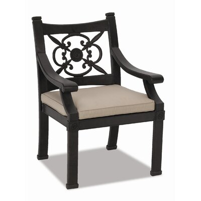 Sunset West Del Mar Dining Arm Chair with Cushion