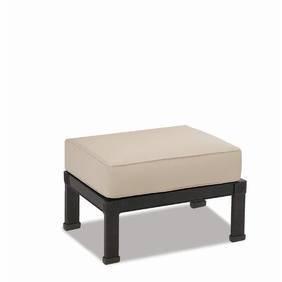 Sunset West Del Mar Ottoman with Cushion