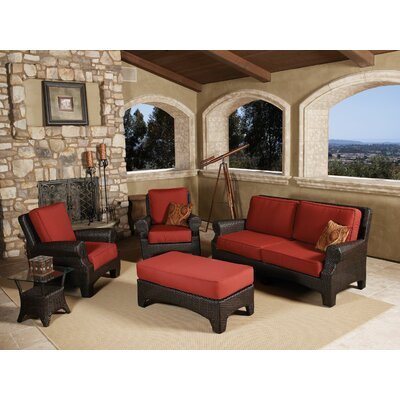 Sunset West Santa Barbara Deep Seating Group with Cushions