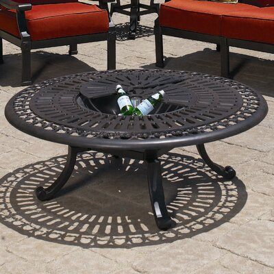 Sunset West Del Mar Fire Pit Table