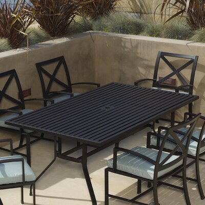 Sunset West La Jolla Rectangular Dining Table