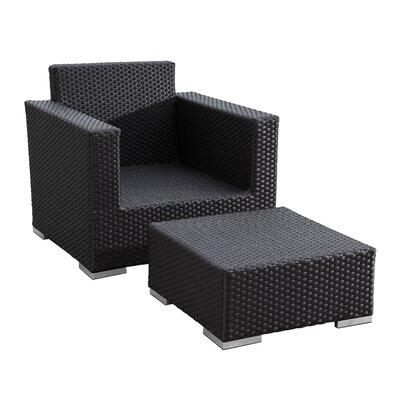 Sunset West Solana Club Chair with Cushion