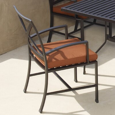 Sunset West La Jolla Dining Arm Chair with Cushion