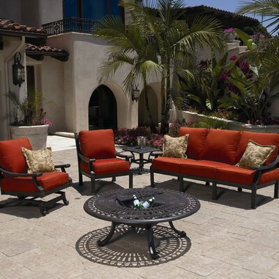 Sunset West Del Mar Deep Seating Group with Cushions