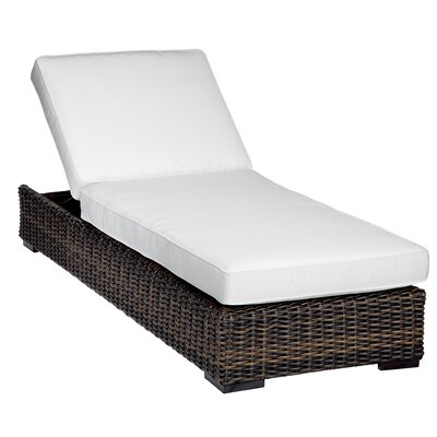Sunset West Montecito Chaise Lounge with Cushion