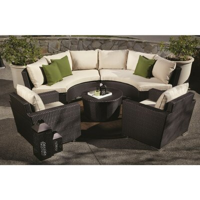 Sunset West Solana Deep Seating Group with Cushions