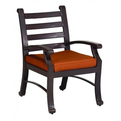 Sunset West Newport Dining Arm Chair with Cushion