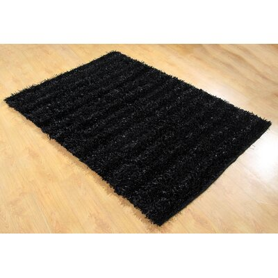 Chesapeake Merchandising Inc. Seabury Black Shag Area Rug