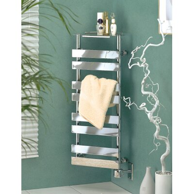 "Wesaunard Corner Piece 13"" Wall Mount Electric Towel Warmer"