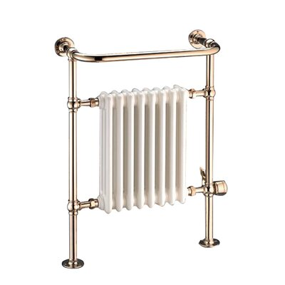 "Wesaunard Victorian 26.5"" Floor Mount / Wall Mount Electric Towel Warmer"