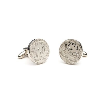 MLB Silver Edition Cufflinks