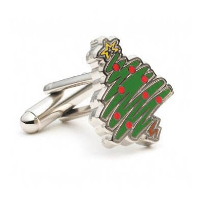 Cufflinks Inc. Christmas Tree Cufflinks