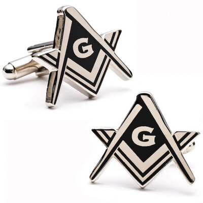 Cufflinks Inc. Masonic Cufflinks