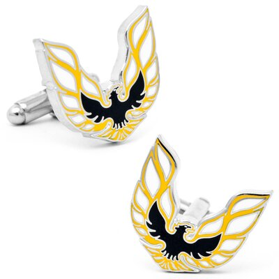 Cufflinks Inc. Pontiac Firebird Logo Cufflinks